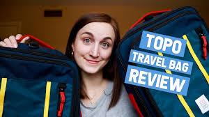 Topo Designs Travel Bag 30l Review Topo Designs Travel Bag Review 30l Vs 40l Comparison