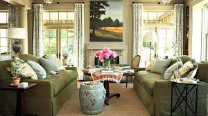 Southern Living Living Rooms Interior
