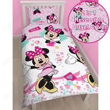 Mickey And Minnie Mouse Bedroom Disney Mickey Or Minnie Mouse Single Duvet Cover Sets Kids Bedroom