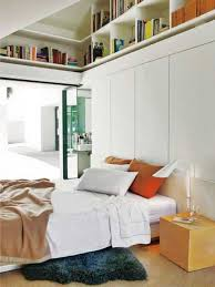 if you have an attic bedroom then you could use those ceiling shapes to build stylish