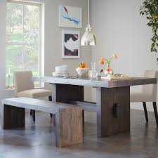 emmerson dining table bench west elm