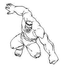 incredible hulk coloring pages free print