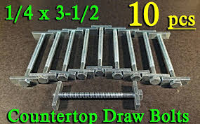countertop bolts new miter draw bolts fasteners connectors dog bones zinc countertop miter bolt jig countertop tightening bolts