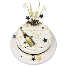 Champagne Celebration Cake Anniversary Cakes The Cake Store