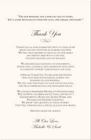 Wedding Program Thank You Thank You Message Wedding Program Fan Cool