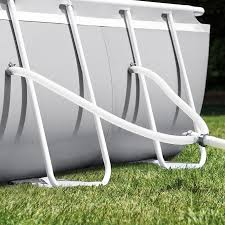 <b>Intex Prism Frame</b> 20-ft x 10-ft x 48-in <b>Oval</b> Above-Ground Pool in ...