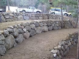 boulder retaining wall design like