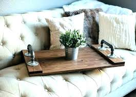 wood ottoman tray round wooden tray for ottoman large extra large wooden ottoman tray dark wood