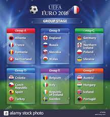 Euro 2016 group stage concept Stock Vector Image & Art - Alamy