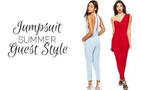 stylish jumpsuits that make perfect wedding guest outfits to wow Wedding Guest Dresses Uk Summer 2014 summer wedding guest style jumpsuits feature image Beach Wedding Dresses for Guests