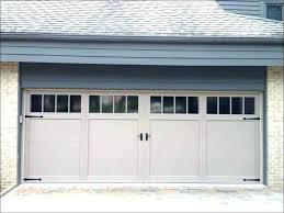 scenic faux garage door windows