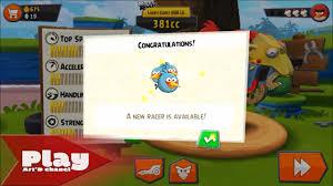 Angry Birds go!! Rocky Road Track 1 : Recruitm Blue Birds - YouTube
