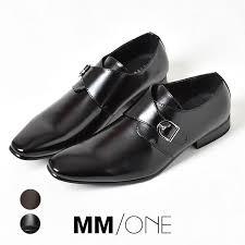 business shoes long nose faux leather men s monk strap mm one yemem won mpt125 5