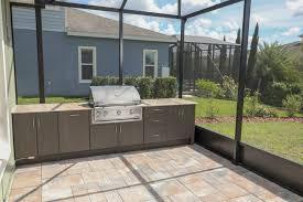 screen enclosure patio outdoor kitchen in fishhawk ranch