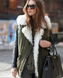 jacket sherpa leather jacket winter outfits boho anorak wheretoget