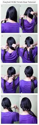 Hairstyles For School Step By Step Top 10 Hairstyle Tutorials For This Fall Updo Pony Tails And Twists
