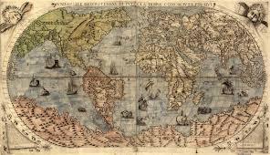 amazing maps classic old world map