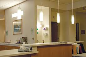 over the counter lighting. Mini Pendants Using CFLs Add A Decorative Touch At The Nurses\u0027 Station In Oncology Treatment Area And They Provide Good Lighting For Counter Over