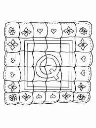 Small Picture Lovely Quilt Coloring Pages 25 With Additional Free Coloring Book