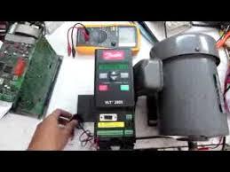 moteur 870w variateur danfoss vlt 2800 my station ซ่อมอินเวอร์เตอร์ danfoss 2815 inverter by red intertrade