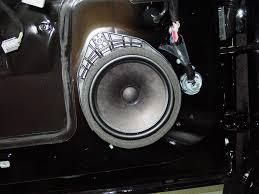 chevrolet camaro car audio profile chevy camaro front door woofer