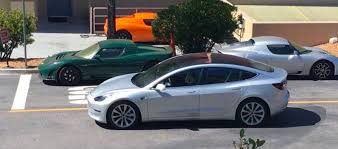 tesla new car releaseTesla Model 3 a new silver release candidate spotted  making it