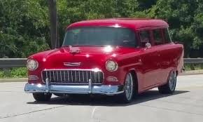 1955 Chevrolet 150 Custom Fuel Injected BelAir Station Wagon - YouTube