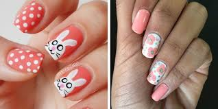 Decorative Nail Art Designs 100 Easter Nail Art Ideas You Have to Try This Spring Easy Easter 98