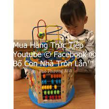 Bình luận Hộp đồ chơi gỗ an toàn giáo dục sớm thông minh cho bé trai & gái  (Quà tặng Sinh Nhật trẻ em, Quà Tặng Tết trẻ con)