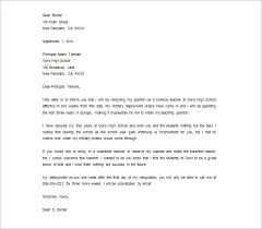 NHS Resignation Letter Example