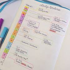 plan daily schedule how to effectively plan your week bullet journals bullet and routine