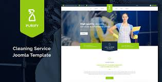 Cleaning Service Templates Cleaning Website Wordpress Templates Purify Cleaning Service Joomla