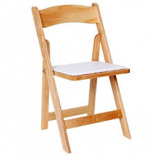chairs stools a wele change from metal folding chairs these solid wood queen anne chairs look like furniture from a regular dining room set