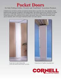 Pocket Door Retrofit Pocket Door Technical Sheet Cornell Pdf Catalogues
