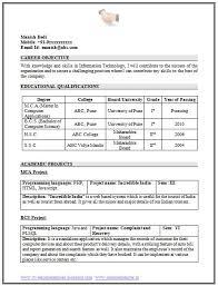 Resume Samples For Freshers Engineers Pdf Best Of Best Resume Format