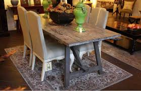 gray wood dining table. Rustic Grey Wood Dining Table Gray W
