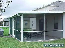 screen in patio repair cost sliding door home depot canada cover kits