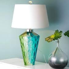 stunning blue green lamp blue green oil lamp