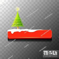 christmas vector red glossy on with