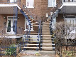 The Outdoor Staircases of Montreal, Quebec