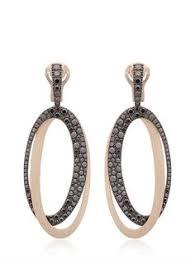 italian jewelry brands 1 antonini black white earrings luisaviaroma luxury ping worldwide shipping florence black