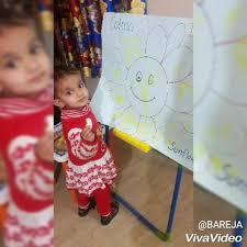 Cotton <b>dabbing</b> In <b>Sun</b> flower - Lil' Munchkins Preschool and Daycare
