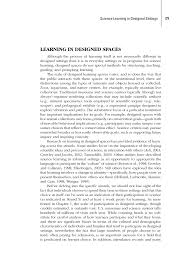 science learning in designed settings learning science in page 129