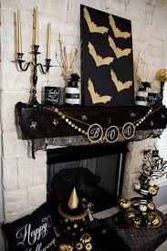 Elegant Halloween Mantel Decorating Ideas 18 In Small Home Decor  Inspiration With Halloween