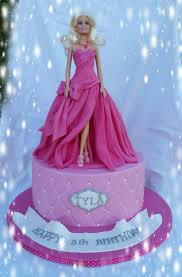 Princess Barbie Cake Cake By Kim Berriman Figurine Cakes