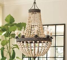 diy beaded chandeliers