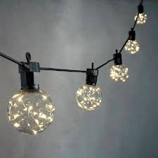 lighting strings. Celestial Globe String Lights With Silver Wire LEDs, Strand Of 10 Lighting Strings T