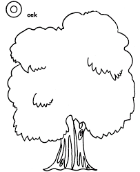 coloring pages of tree. Brilliant Pages Oak Tree Coloring Pages Throughout Of T