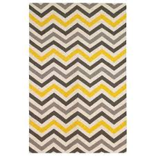 dwell yellow and gray chevron rug for living yellow chevron rug target