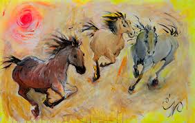 fineartamerica painting 3 brothers by elizabeth parashis